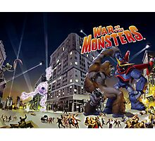 War of the Monsters Cover Art Photographic Print