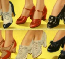 Retro Shoes Sticker