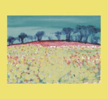 Field of spring flowers Kids Clothes