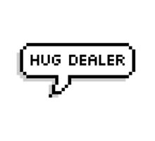 Hug Dealer by sadfatunicorn