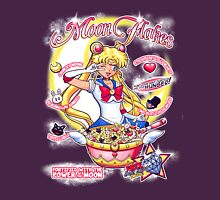 Moon Flakes Womens Fitted T-Shirt