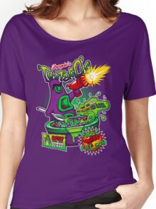 Purple's Tentaco's Women's Relaxed Fit T-Shirt