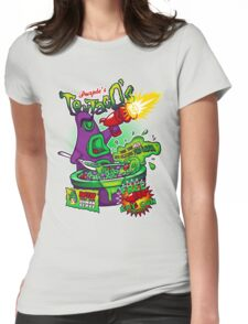 Purple's Tentaco's Womens Fitted T-Shirt
