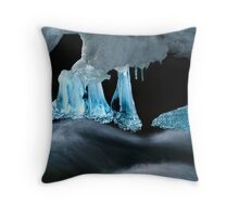 Backlit Ice Throw Pillow