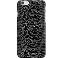 Pulsar waves - Black&White iPhone Case/Skin