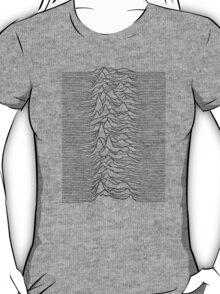 Pulsar waves - white&black T-Shirt