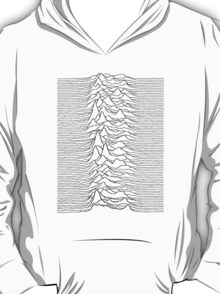Pulsar waves - white&black T-Shirt