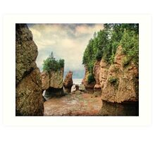 Hopewell Rocks, New Brunswick Art Print