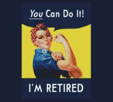 Retired Rosie the Riveter by CafePretzel