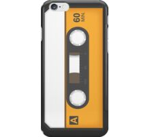 Awesome blank music tape iPhone Case/Skin