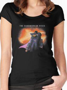 The Darkwarrior Rises Women's Fitted Scoop T-Shirt