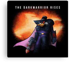 The Darkwarrior Rises Canvas Print