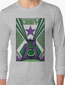 OBEY Purple Tentacle Long Sleeve T-Shirt