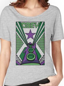 OBEY Purple Tentacle Women's Relaxed Fit T-Shirt