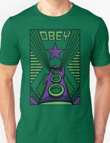 OBEY Purple Tentacle Unisex T-Shirt