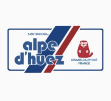Alpe D'Huez Cycling Mountain Marmotte Beaver by movieshirtguy