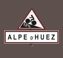 Alpe d'Huez Sign Mountain Cycling Tour de France T-Shirt