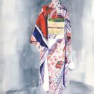 Samurai Girl by J-C Saint-Pô