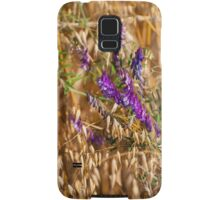 oats and Vicia flowers grow Samsung Galaxy Case/Skin