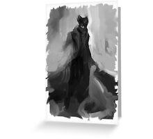 Bloodbourne Greeting Card