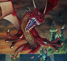 Red Draco by Englandken