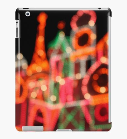 A Bokeh World After All iPad Case/Skin