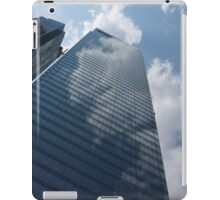 Sky and Sky - Toronto Skyscraper Reflecting Fluffy White Clouds iPad Case/Skin