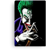 'The Joker', Why so serious? Canvas Print