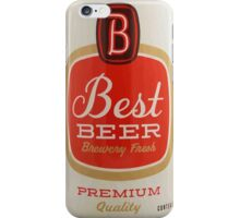 Best beer iPhone Case/Skin