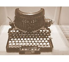 Old-fashioned Word Processor Photographic Print