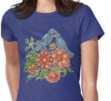Fly Away With Me Womens Fitted T-Shirt