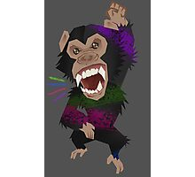 Chimp Smash Photographic Print