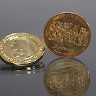 Centennennial / Bicentennial Coins by Joe Powell