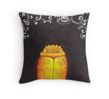 The gold bug Throw Pillow