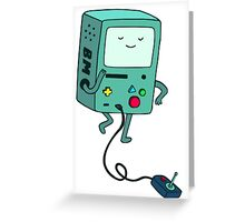 Adventure time Beemo Greeting Card