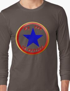 Blue Star Son_whitebg T-Shirt