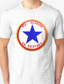 Blue Star Husband T-Shirt