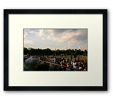 That's America To Me..... Framed Print
