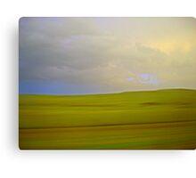 flint hills Canvas Print
