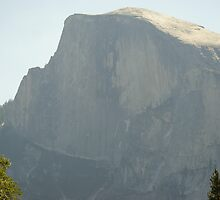 Half Dome in the afternoon sun by photoclimber
