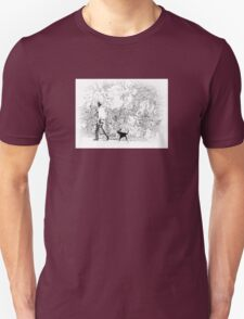 Out For A Walk  T-Shirt