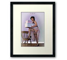 The High Shelf Framed Print