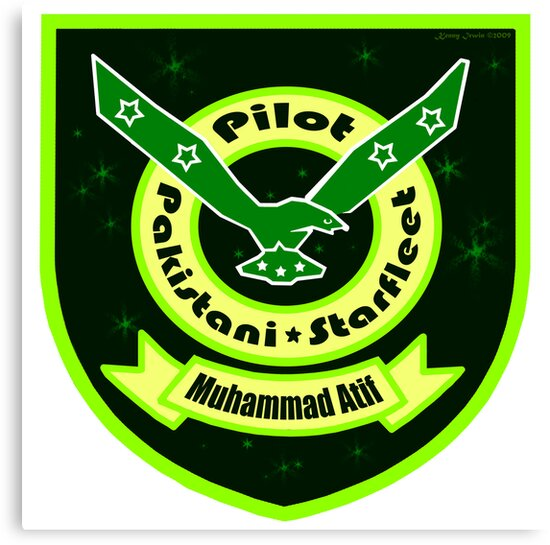 Pakistani Starfleet Elite Robostan Force Pilot Badge by Kenny Irwin