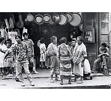 Zamboanga Scene. Photographic Print