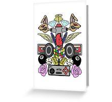 Ramoe Nostalgic Vibes (Colour Version) Greeting Card