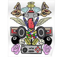 Ramoe Nostalgic Vibes (Colour Version) Poster