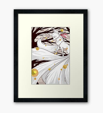 The Ink Forest Framed Print
