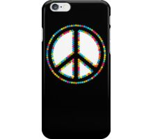 Circled Peace Sign Symbol 2 iPhone Case/Skin