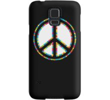 Circled Peace Sign Symbol 2 Samsung Galaxy Case/Skin