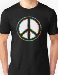 Circled Peace Sign Symbol 2 T-Shirt